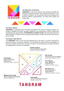 Tangram - Agency Outline